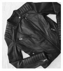 🌟Prirodna koža, jakna BERSHKA, original, extra🌟