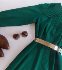 SNIZENA zelena haljina
