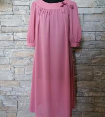 haljina puder roze