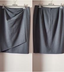 %11.500-Max Mara vunena suknja, original