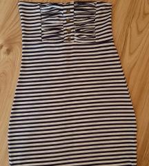 Mini top pamucna haljinica s