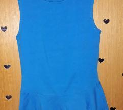 Terranova plava majica sa karnerima XS