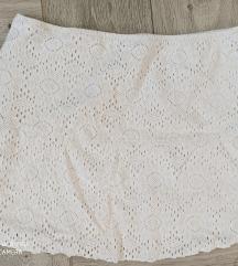 CALZEDONIA bela suknja vel M