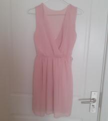Lepršava haljinica bebi roze boje