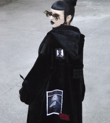 Punkrave Long Cardigan Jacket univerzalna velicina