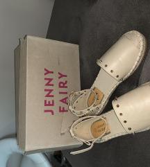 Sandale espadrile krem JENNY FAIRY