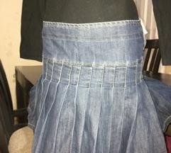 Teksas suknja- NA FALTE