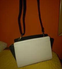 Belo crna torbica