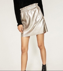 Nova Zara metalik suknja