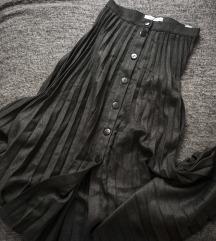 Reserved plisirana suknja s dugmadima, vel. 34