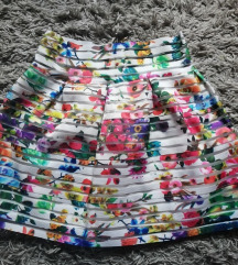 DANAS 700✿ Cvetna suknja/KAO NOVO