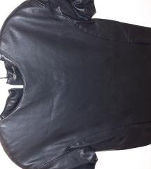 Zara kozna haljina kratka