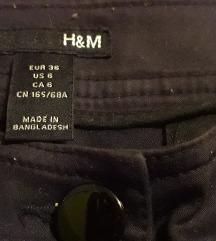 Crne pantalone H&M