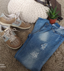 Shechers plaid sneakers