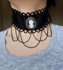 Unikatna gothic ogrlica