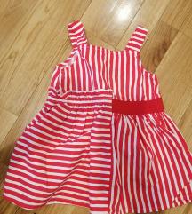 Haljina za devojcice 9-12mes