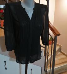 Crna bluza viskozna
