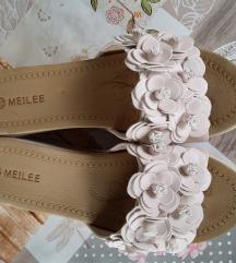 Meilee krem papuce