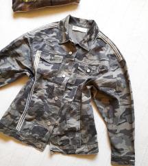 Zara military jakna sa krljustima