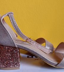 Nove rose gold sandale