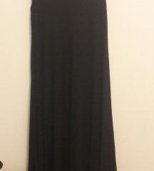 Crna haljina neobičnog kroja