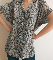 Bluza zmijskog printa
