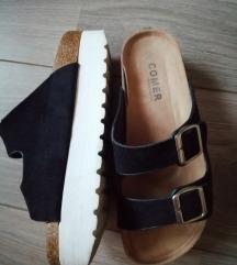 Papuce na platformu 38