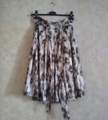 PRINCIPLES midi suknja sa pojasom leopard print