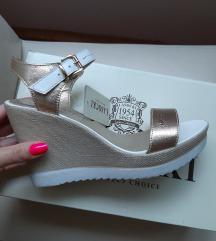 Kožne nove sandale