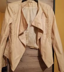 Bež jaknica M/L