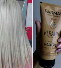 SOS za suvu kosu- Keratinska maska