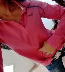 Bluza polo, TCM, prljavo roze