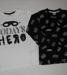 H&M set 2 majice vel.86