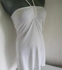 Bela pamucna haljina S