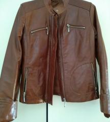 Kozna jakna,38, original,40,S,rokerka, novo