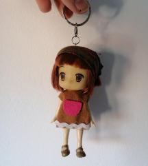 Anime girl privezak