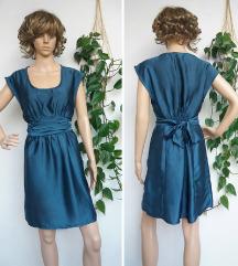 H&M petrolej haljina