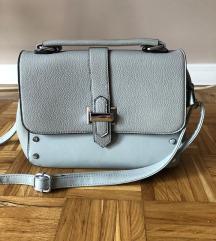 Siva kozna torbica
