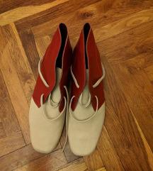 Kozne duboke cipele rucna izrada