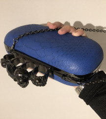 Plava elegantna torbica