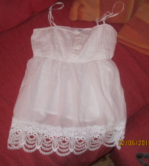 H& M bela majica