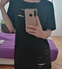 Ripped haljina/Iscepana crna haljina