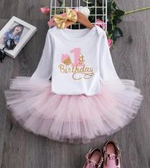 Nova haljina za devojčice - 1 rodendan 🎊