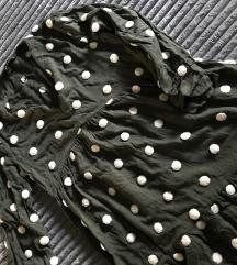 Široka Zara tunika sa tufnicama
