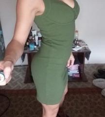 Zelena kratka haljinica