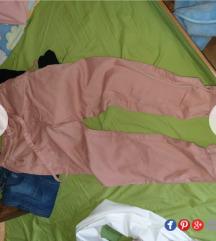 NOVO Reserved roze pantalone
