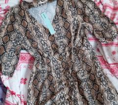 Haljina zmijski print
