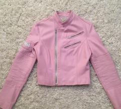 Please kožna jakna, made in Italy