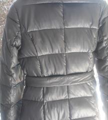 Duga perjana jakna sa pravim krznom