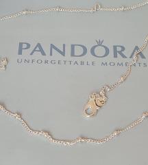 PANDORA Ogrlica sa nizom perli